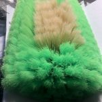 hog hair nylon foot ball brush