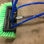 "10″ Nylon FootBall Brush ""french panes"" special"